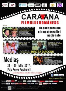 Caravana filmului romanesc la Medias