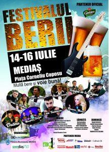 Festivalul Berii la Mediaș 2017