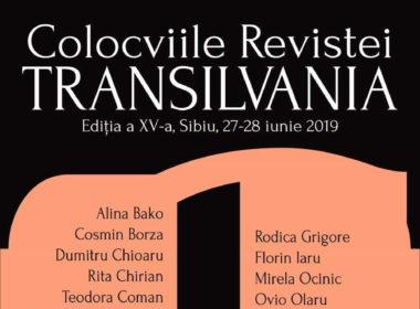 Colocviile resvitei Transilvania au ajuns la cea de-a XV-a ediție