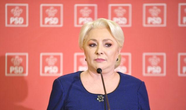 Viorica Dăncilă vine la Sibiu să pună şef la PSD