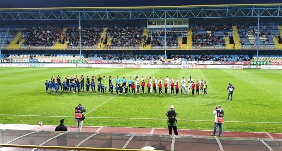 GAZ METAN MEDIAȘ - CHINDIA TÂRGOVIȘTE, prima etapă din Liga 1  |Chindia Târgoviște- Gaz Metan
