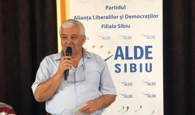 ALDE Sibiu se întăreşte: Teodor Dumitru Banciu a intrat în ALDE