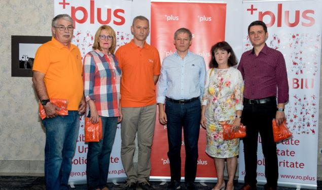 Liderul PLUS, Dacian Cioloş, prezent la Sibiu