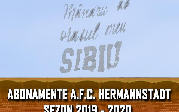 FC Hermannstadt a dat startul vânzărilor online pentru abonamentele sezonului 2019-2020