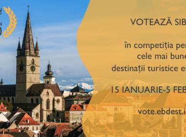 Sibiul candidează la titlul de European Best Destination 2020
