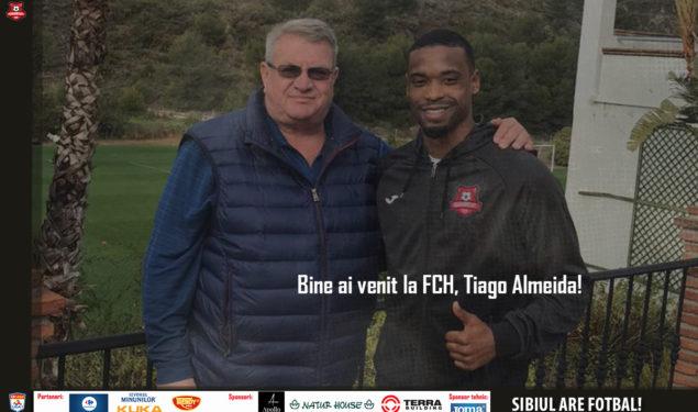 Tiago Almeida, al şaselea jucător portughez care semnează cu Hermannstadt