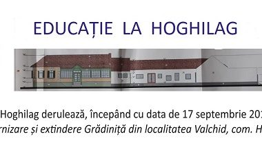 """""""Reabilitare, modernizare și extindere Grădiniță din localitatea Valchid, com. Hoghilag, județ Sibiu"""""""