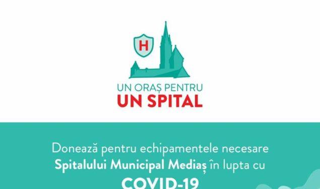 """""""Un oraș pentru un spital"""", campanie pentru Spitalul Municipal din Mediaș"""
