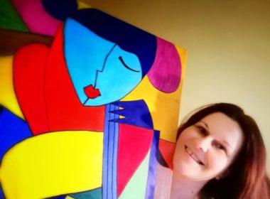 Ioana Buta: Când pictez sunt doar eu cu gândurile și emoțiile mele