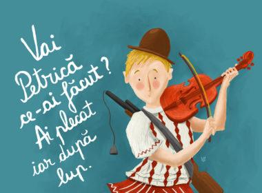 """Povestea muzicală """"Petrică şi lupul"""", la Filarmonica de Stat Sibiu de 1 iunie"""