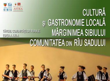 Târgul comunităților rurale – ediție dedicată Comunei Rîu Sadului