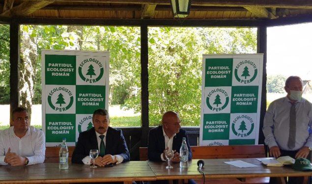Organizația județeană a Partidului Ecologist Român și-a prezentat candidații