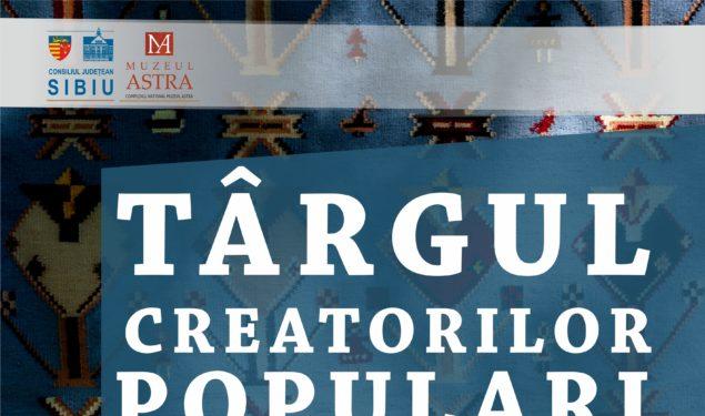 Peste 250 creatori populari din toate regiunile țării participă la Târgul Creatorilor Populari din România